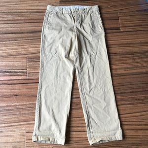 Jcrew broken boyfriends chino straight leg pants